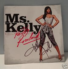 KELLY ROWLAND SIGNED MS. KELLY AUTOGRAPH ALBUM CD COVER DESTINY'S CHILD