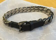Gucci Bracelet Leather And Sterling Silver
