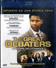 THE GREAT DEBATERS Denzel Washington BLURAY NEW Sigillato