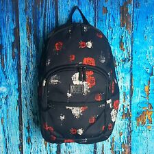 Vans SCHOOLING Backpack (Black/Red/White-Rose)