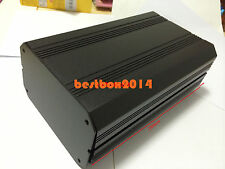 BLACK DIY Aluminum Instrument Box Enclosure Electronic project Case 250x160x94mm