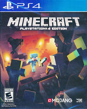 Minecraft Playstation 4 Edition PS4 Game BRAND NEW SEALED
