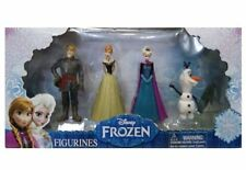 New Disney Frozen Elsa Anna Kristoff and Olaf Mini Doll 4 pcs Figurines Figures