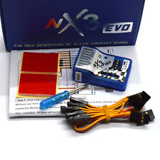 NX3 EVO 3D Flight Stabilization Controller Gyro Balance for RC Fixed-Wing Plane