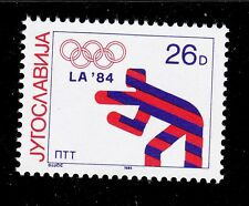 YUGOSLAVIA   SCOTT# 1704a   MNH  OLYMPIC/WRESTLING TOPICAL