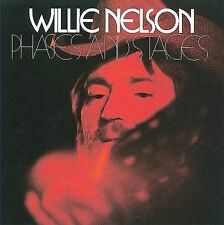 WILLIE NELSON Phases and Stages CD reissue 1974 concept album SEALED Atlantic