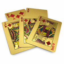 Golden Playing Cards Deck - Unique Diwali Gift Item - Playing Cards Golden
