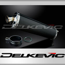"Suzuki RF900R 1994-1997 18"" Carbon Fiber Oval Bolt On Muffler Exhaust Silencer"