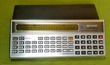 Calculator, Calcolatrice SHARP PC-1211 pocket computer Vintage