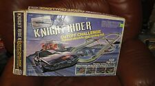 Vintage KNIGHT RIDER CUT OFF CHALLENGE SLOT CAR SET 1983 IDEAL