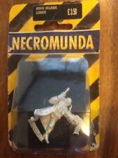 Necromunda House Delaque Leader New  In Blister Metal Warhammer 40k