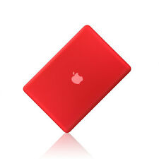 "NEW Rubberized RED Hard Case Cover for Apple Macbook PRO 13"" 13.3 (A1278)"