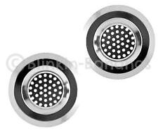 2 KITCHEN SHOWER BATHROOM PLUG HOLE BATH HAIR SINK BASIN FILTER STRAINER TRAP