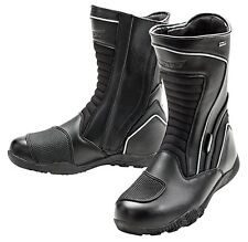 JOE ROCKET METEOR WATERPROOF TOURING MOTORCYCLE LEATHER BOOTS MENS SZ 13 US /12K