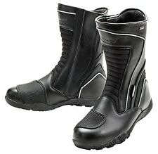 JOE ROCKET METEOR WATERPROOF TOURING MOTORCYCLE LEATHER BOOTS MENS SZ 9 US /8 UK