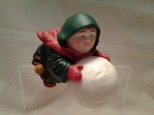 "DEPT 56 - MERRY MAKERS - ""SEBASTIAN THE SNOWBALL MAKER""  -  IOB 93670 - RETIRED"