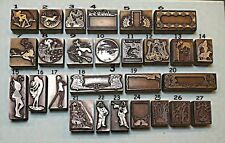"""ART NOUVEAU/ART DECO/ARTS & CRAFTS"" Printing Blocks."