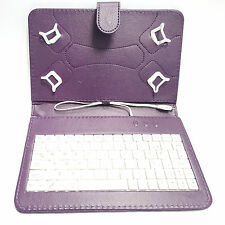 "PU Leather Case Cover Stand with Build in USB Keyboard for 7"" 8"" 8.3"" Tablet"