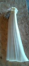 "100 count plastic clip strips with hooks NEW 24"" long"