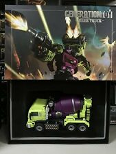 Generation Toy Transformers Devastator GT-1B Gravity Builder Mixer Truck NEW