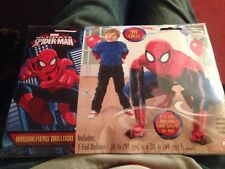 "36"" X 36"" Spider-Man Air walker Superhero Foil Balloon Anagram"