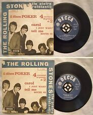 EP 45 ROLLING STONES - CAROL - I JUST WANT - 1964 - DECCA F 11999 Disco Poker