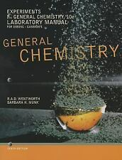 Experiments in General Chemistry, Lab Manual