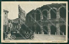 Verona Città Arena Auto cartolina VK1959