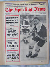 1968 SPORTING NEWS PHIL ESPOSITO BRUINS