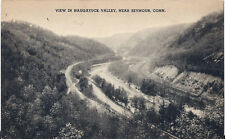 Postcard CT Connecticut View in Naugatuck Valley near Seymour 1940s