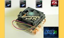 AMD Cooler Fan Heatsink for FX 4130 FX 4350 Processor Socket AM2 AM3 New  No CPU