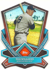 2013 Topps Cut To The Chase Ted Williams Boston Red Sox CTC-9