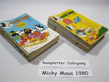 Micky Maus  Jahrgang 1980 / Nr. 1-52 komplett  Ehapa Verlag  70347