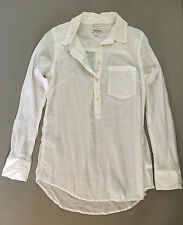 NEW Merona Sheer Cotton Gauze Popover Tunic Layering Top Coverup Womens Small
