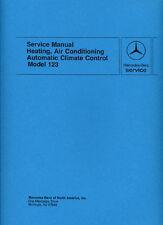 MERCEDES-BENZ 123 Car Shop Manual Book Paper publication number S2339-000