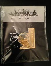 Evangelion Anime 1st Children Promo Pin Pinback Button Enamel Metal