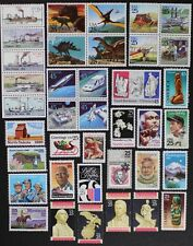 US USA 1989 Commemorative Year Set collection of 38 stamps + Airmails Mint NH