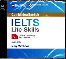 Official Cambridge English IELTS LIFE SKILLS A1 Test Practice Audio CD's @NEW@
