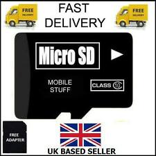 Carte micro sd 16GB tf flash memory microsd micro sdhc classe 10 free ship adaptateur