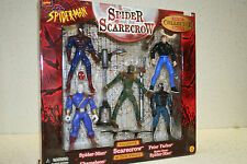 THE SPIDER AND THE SCARECROW SPIDERMAN MARVEL COMICS TOYBIZ 47346 ACTION FIGS
