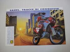 advertising Pubblicità 1990 MOTO GARELLI SAHEL