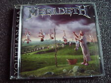 Megadeth-Youthanasia CD-Made in Italy