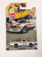 Hot Wheels Datsun 620 WHITE 2016 Truck Series Special Edition (T01)