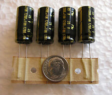 4 pcs 1200uF 35V  NIC Components NRSX Low impedance 105℃ Electrolytic Capacitors