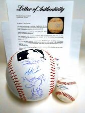 PSA Madison Bumgarner Zito 2010 World Series Giants Team Signed Autographed Ball