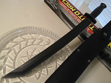 "United Combat Commander Jungle Tanto Machete Knife Sword 3Cr13 UC3135 21 3/4"" OA"