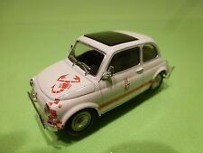 HONGWELL FIAT ABARTH 500 L 595 OLDTIMER 47 TORO - WHITE 1:43 GOOD CONDITION