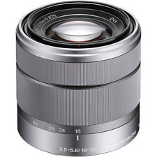 SONY E-Mount SEL1855 18-55mm f/3.5-5.6 Zoom Lens Silver for Nex - Bulk Package