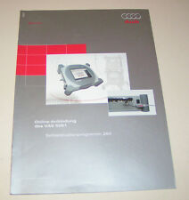 Audi - Online Anbindung des Diagnosesystems VAS 5051 - SSP 294 -  Stand 2002!