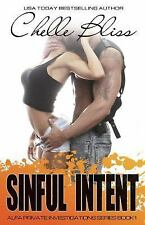 Sinful Intent: ALFA PI, Book 1, Bliss, Chelle, Good Book